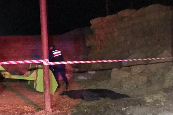 Traktörün şaftına sıkışan iki küçük kardeş hayatını kaybetti