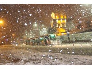 Konya'da Salı günü eğitime kar tatili