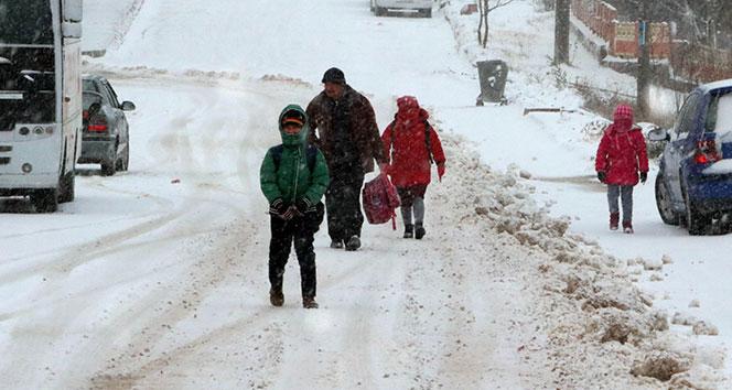 Aksaray'da okullar kar tatili! Eskil'de ise sadece taşımalı eğitimin olduğu okullar tatil