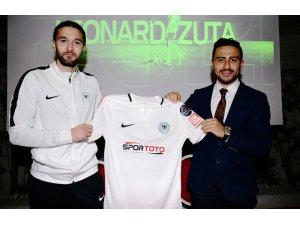 Atiker Konyaspor'a Makedon sol bek