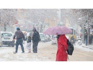Konya'da okullara kar tatili