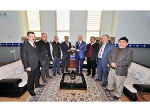 Başkan Özaltun'dan Rektör Zorlu'ya ziyaret