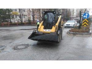 Seydişehir Belediyesinden deforme olan yolları onardı