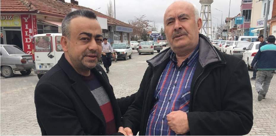 Süleyman Altan'dan esnaf ve vatandaş ziyareti