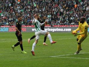 Spor Toto Süper Lig: Atiker Konyaspor: 1 - E.Y. Malatyaspor: 1 (Maç sonucu)
