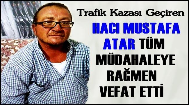 Sultanhanı'nda motosiklet kazasında Hacı Mustafa Atar yaşamını yitirdi