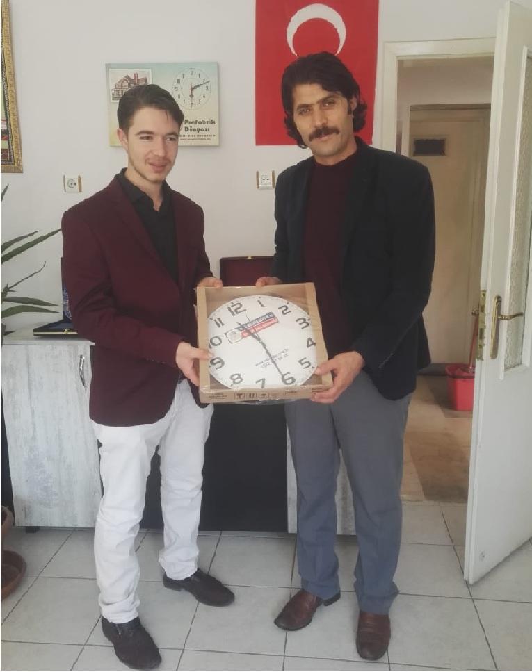 Mehmet Ali Uçar'dan ESKİLDER'e ziyaret