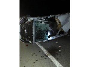 Karapınar'da otomobil Tıra Arkadan Çarptı: 1 Yaralı