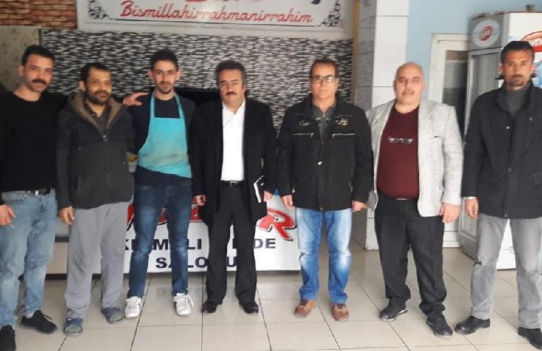 Aksaray Esnaflarından Yaşar Ar'a Destek!