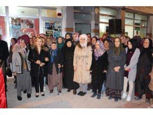 Milletvekili Esin Kara, Cumhur İttifakı adaylarına destek istedi