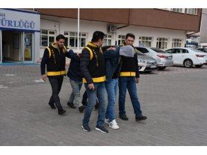 Aksaray'da 4 hırsızlık olayına karışan 2 şüpheli tutuklandı