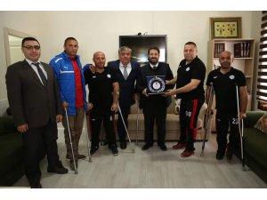 Aksaray Engelli koordinasyon merkezinde anlamlı buluşma