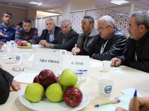 Türkiye' nin en kapsamlı Elma Çalıştayı Karaman'da yapıldı.