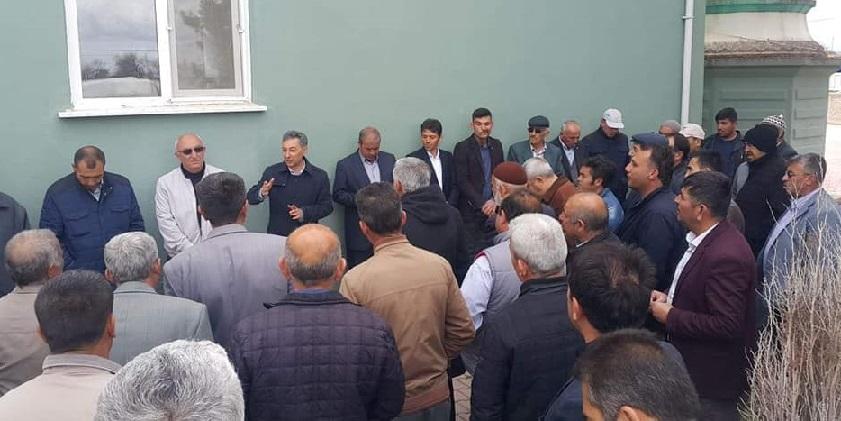 Mustafa Zavlak Köşklülerle buluştu