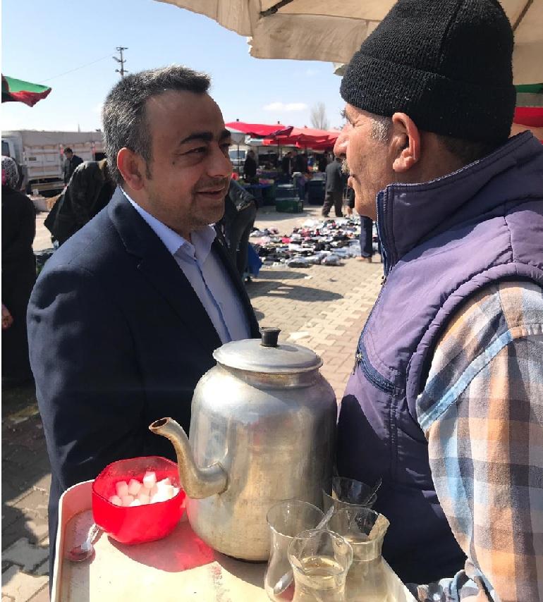 """Süleyman Altan, """"Halkımızın sıcak ilgi ve alakası umut verici"""""""