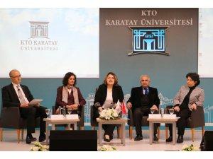 """KTO Karatay'da """"Sıfır Atık ve Enerji"""" paneli"""