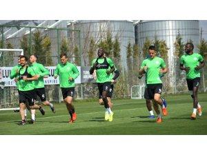 Atiker Konyaspor, M. Başakşehir maçının hazırlıklarını sürdürdü