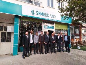Tümsiad Kardeş kuruluşları Beşir Derneği ve Semerkand Vakfına nezaket ziyaretlerinde bulundu