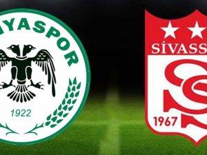 Spor Toto Süper Lig: Atiker Konyaspor: 1 - Demir Grup Sivasspor: 1 (Maç sonucu)