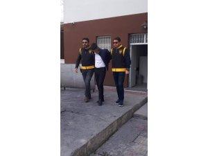 Aksaray'da hırsızlık şüphelisi tutuklandı