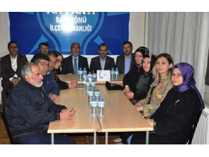 AK Parti'den Sarayönü ilçesine ziyaret