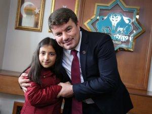 Belediye Başkanı Evren Dinçer'e gün boyu ziyaretler devam etti
