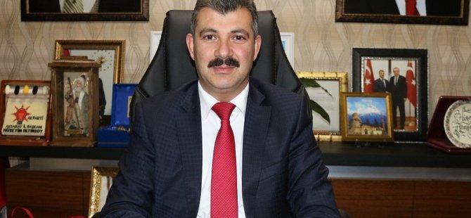 """Başkan Altınsoy, """"23 Nisan milletimiz için gurur günüdür"""""""
