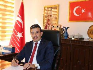 Merkez İlçe Başkanı Aktürk 23 Nisan'ı kutladı