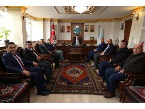 Başkan Dinçer'e ziyaretler sürüyor