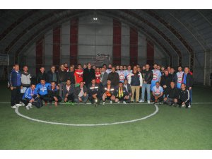 Akşehir'de kurumlar arası futbol turnuvası