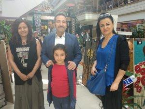 Aksaray'da öğrencilerden resim sergisi