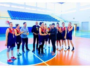 ASÜ Kadın Basketbol Takımı Süper Lig'e yükseldi