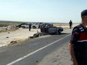 Eskil'de LGS yolunda kaza: 4 yaralı