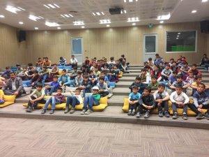 Meram Belediyesinin çocuklar için başlattığı projenin ilk ayağı son buldu