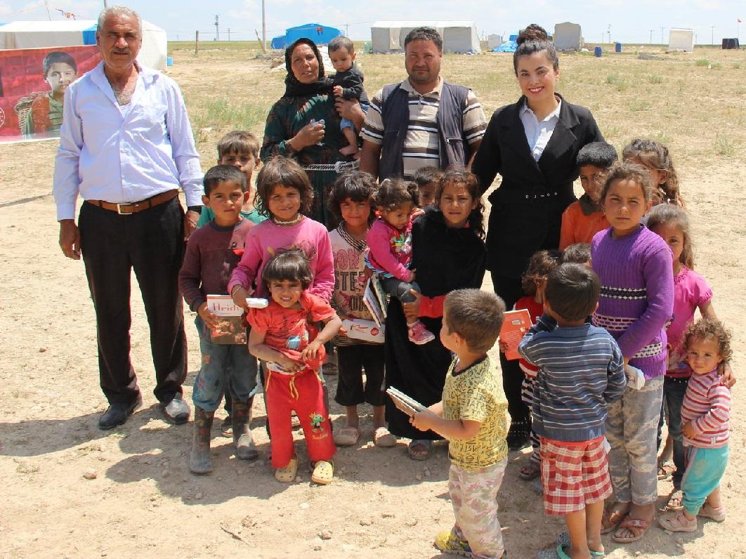 Bozcamahmut'taki Tarım İşçisi Ailelerinin Çocuklara Anlamlı Program