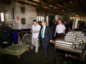 Yatırımcılara 'Geçmiş Olsun' ziyareti