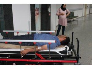 Aksaray-Konya yolunda minibüs devrildi: 1 ölü, 2 yaralı