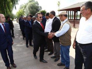 Vali Ali Mantı Gülağaç ve Güzelyurt ilçelerini ziyaret etti