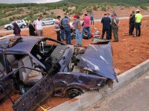 Otomobil takla attı: 16 yaşındaki genç hayatını kaybetti, 4 kişi yaralandı