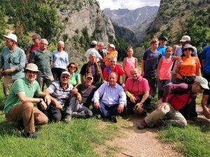 Başkan Oprukçu'dan dağcılara sürpriz ziyaret