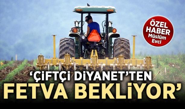 Çiftçi Diyanet'ten fetva bekliyor