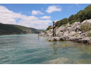 Sportif amatör olta avcıları adalarda da avlanmak istiyor