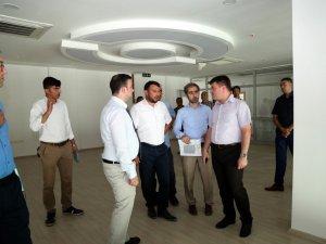 Başkan Dinçer Kadın Aktivite Merkezinde inceleme yaptı
