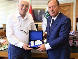 Türkiye Muhtarlar Federasyonundan Başkan Oprukçu'ya ziyaret