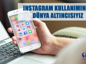 Instagram kullanımında dünya altıncısıyız