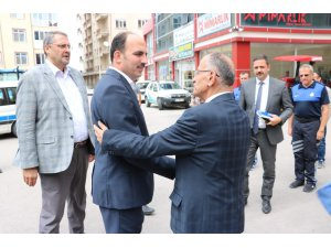 Başkan Altay, Beyşehir Belediyesini ziyaret etti