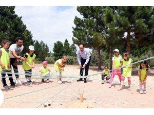 """Başkan Altay: """"Amacımız çocuklarımızın Konya'da mutlu olması"""""""
