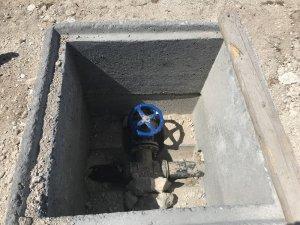 Eskil Böğet'te İçme Suyu Şebekesi Çalışması Tamamlandı