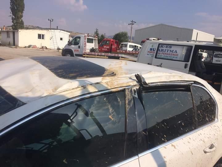 Eskilli Aile Konya'da Kaza Yaptı: 4 Yaralı