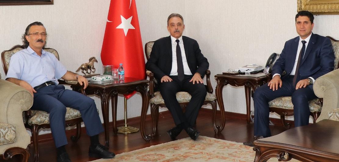 Hakim Alparslan Keskin'den Konya Valisi Toprak'a ziyaret